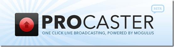 Procaster-live-screencasting
