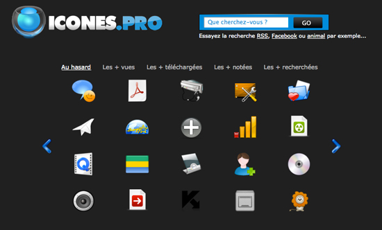 Icones.pro: tantissime icone gratis per i nostri progetti creativi