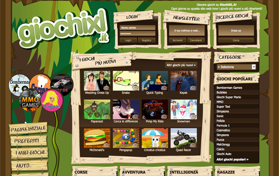 giochi on line gratis