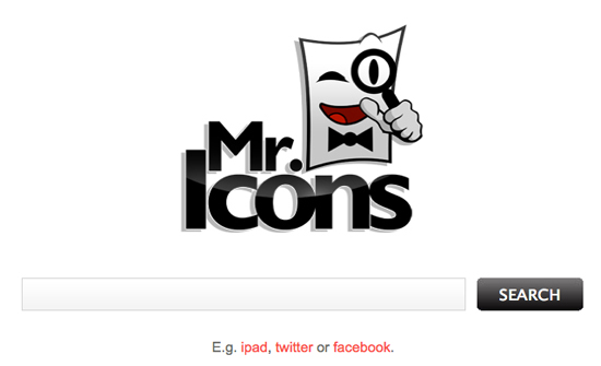 mr.icons: motore di ricerca icone