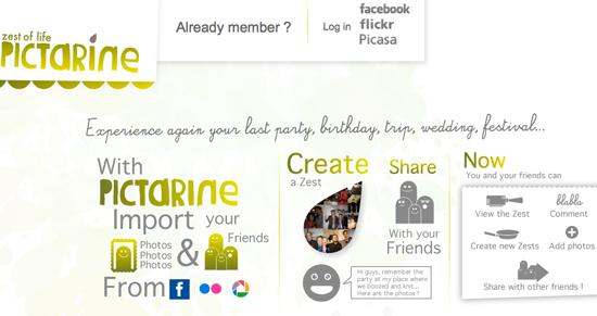Picatrine: come raggruppare foto dei social network