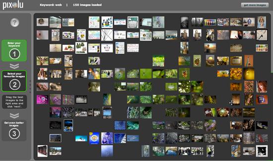 Pixolu: motore di ricerca immagini