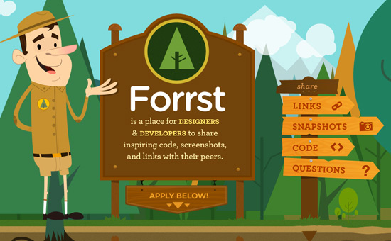 forrst Forrst: Community Per Web Designer E Sviluppatori