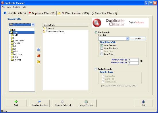duplicate cleaner Eliminare File Duplicati Con Duplicate Cleaner