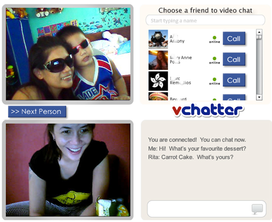 vchatter1 Video Chat Su Facebook Con VChatter