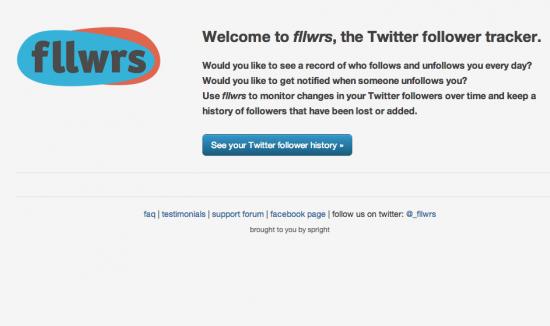 fllwrs: traccia chi smette di seguirti su Twitter