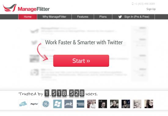 Manageflitter: servizio per gestire profilo Twitter e scoprire chi ti unfollowa