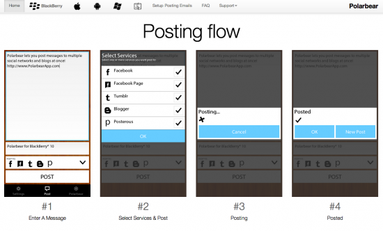 PolarBear: come aggiornare tutti i social network allo stesso tempo