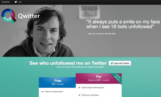 Qwitter: trova chi smette di seguirti su Twitter