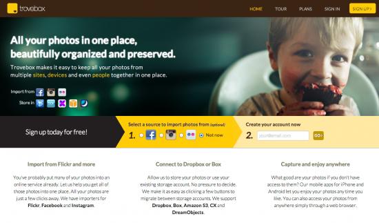 TroveBox: archiviare e trasferire tutte le foto dei social network ad un servizio di storage online