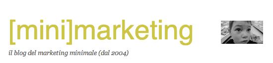 Minimarketing -