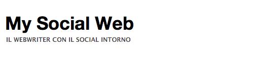 My Social Web -