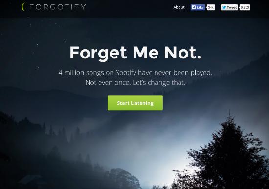 Forgotify