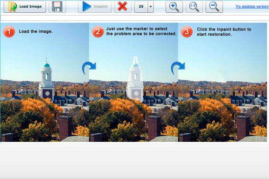 web inpaint Foto Editing: Eliminare Oggetti Dalle Foto Con Web InPaint